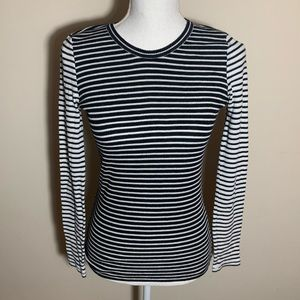 J. Crew Striped Long Sleeve Top XS